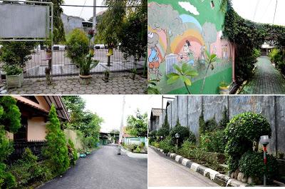 Suasana Hijau di RW 08 Merbabu Asih Kelurahan Larangan Kecamatan Harjamukti