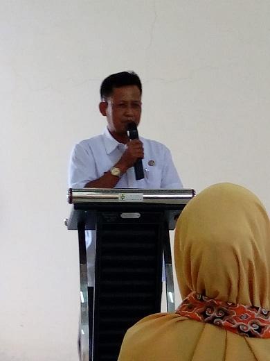 sambutan Camat Harjamukti Drs Agus Suharman SH.MH
