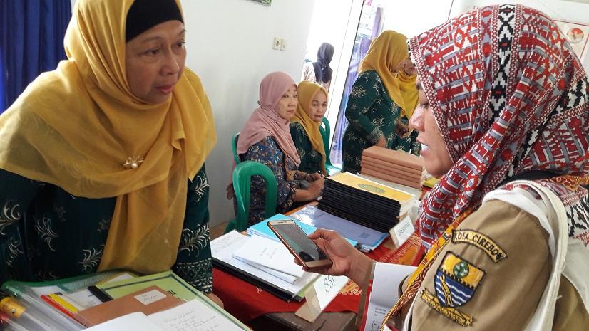 Tim penilai Lomba Kampung Siaga Aktif