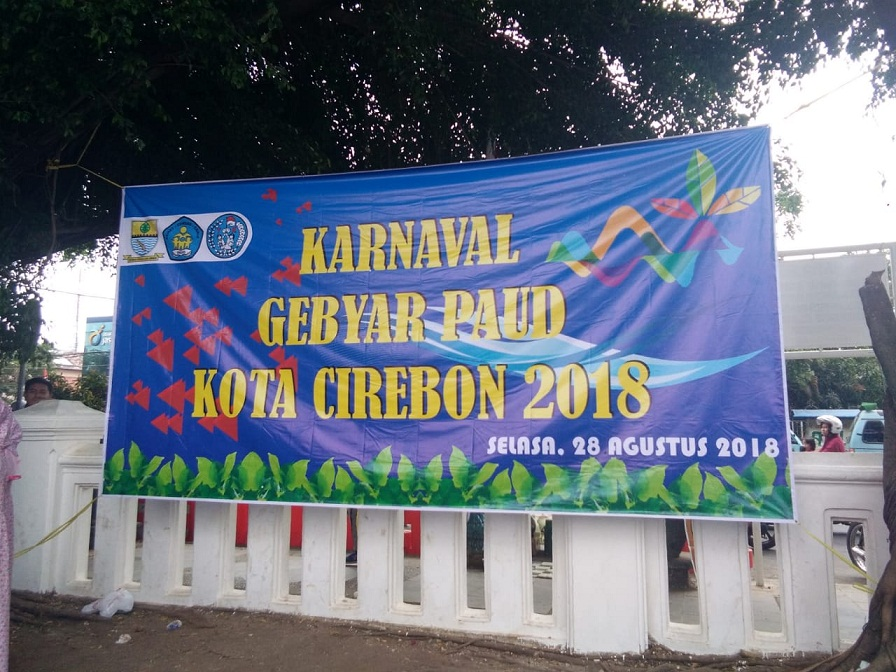 karnaval gebyar PAUD Kota Cirebon Tahun 2018