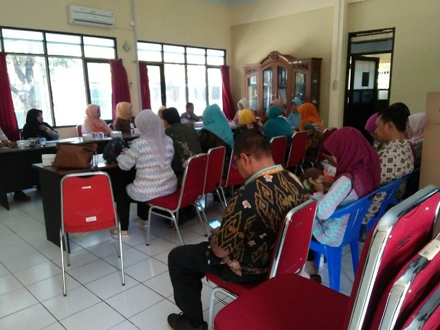 Peserta Rapat Koordinasi Pembahasan Strata Posyandu
