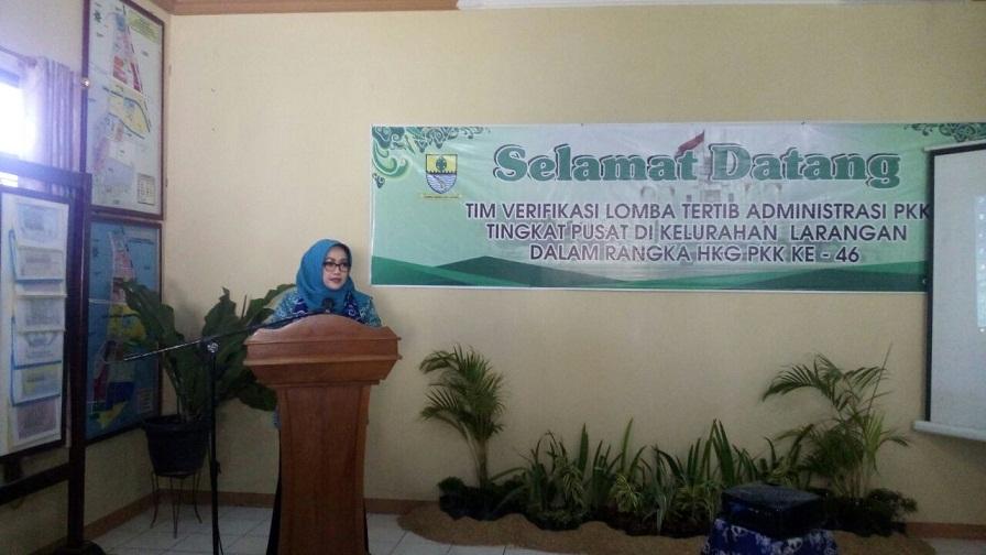 Ketua TP PKK Kota Cirebon DR. Hj. R. Ira Irawati, M.S