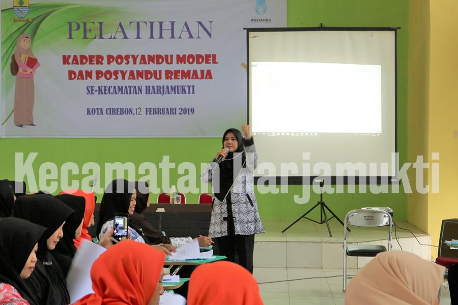 Pelatihan Posyandu Model dan Posyandu Remaja Se-Kecamatan Harjamukti