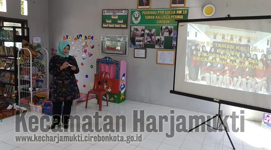Lomba Posyandu Tingkat Kota Cirebon, Posyandu Adelia RW 13 Taman Kalijaga Permai Mewakili Kecamatan Harjamukti