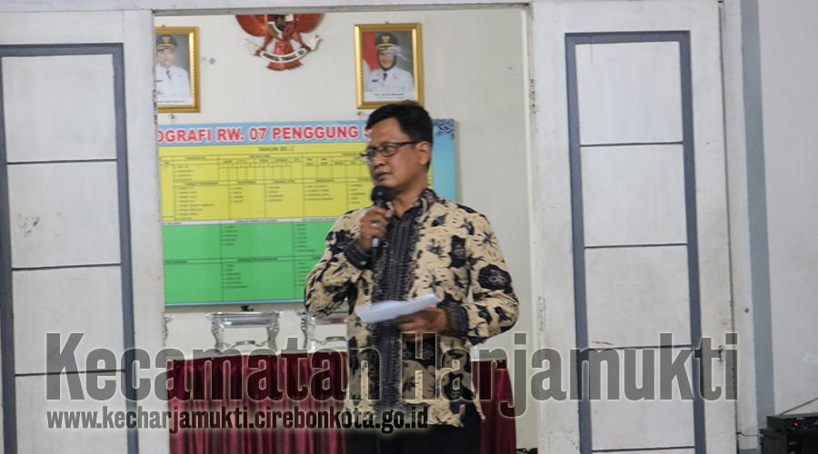 Pelantikan Pengurus RW. 07 Penggung Selatan Oleh Camat Harjamukti