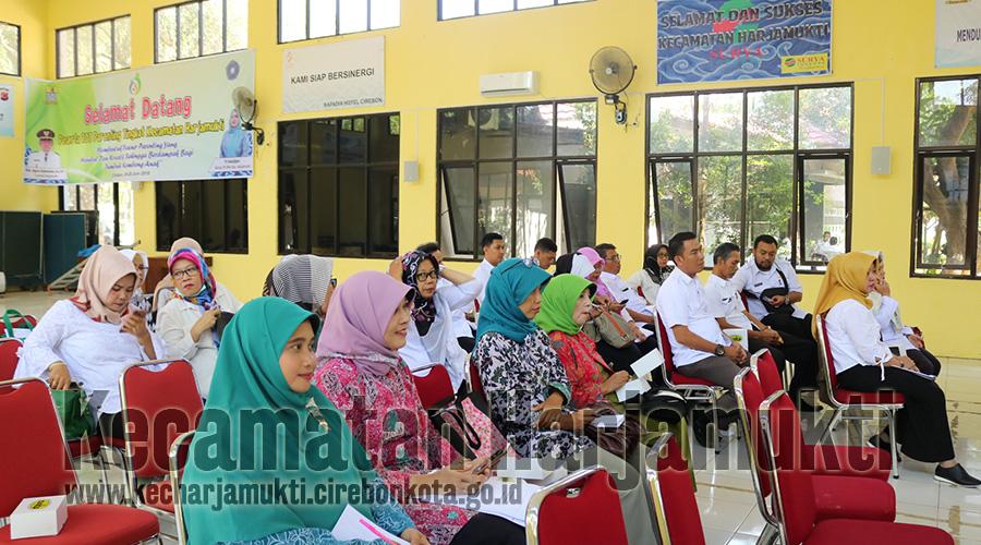 Kecamatan Harjamukti Gelar Rapat Koordinasi Terkait Kesehatan Masyarakat