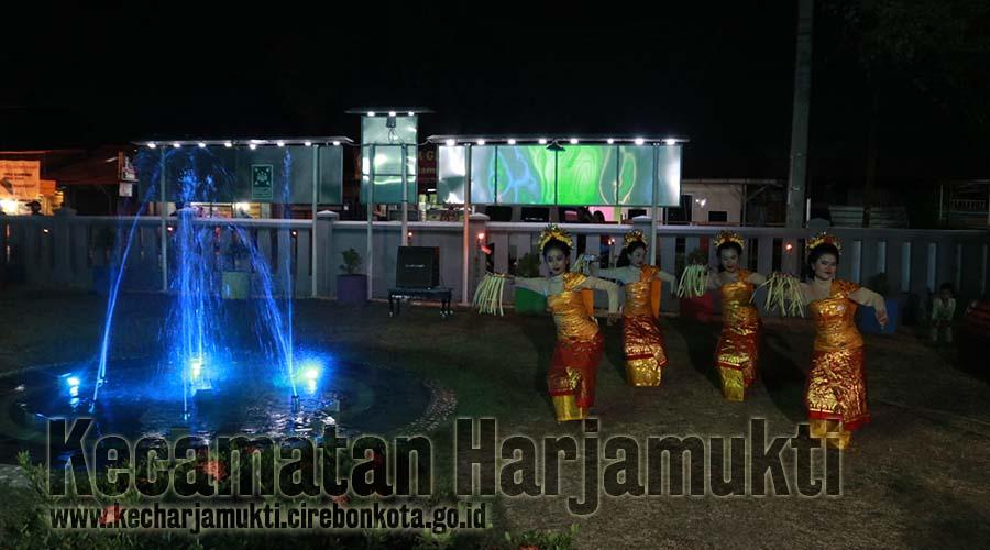 Taman Air Mancur Kecamatan Harjamukti jadi Wadah Pentas Seni dalam Memeriahkan Hari Jadi Kota Cirebon ke-650