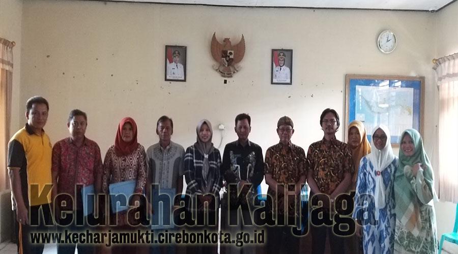 Foto bersama RW Terpilih Periode Tahun 2019 - 2022