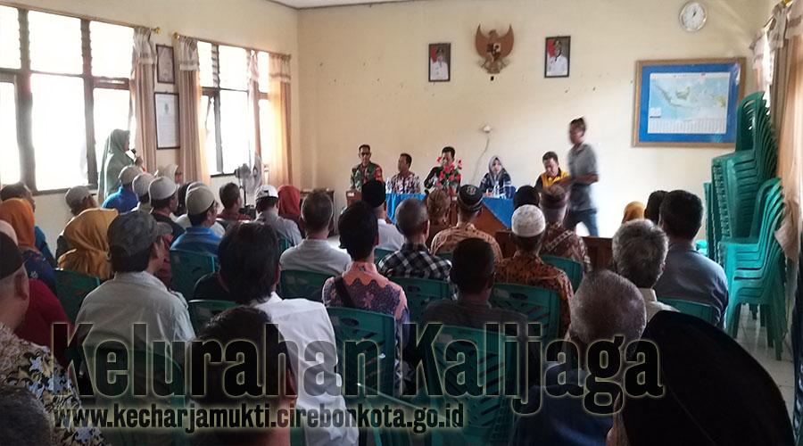 Pelantikan Pengurus RW. 003 Kalijaga & RW. 012 BKPT Periode Tahun 2019 - 2022.