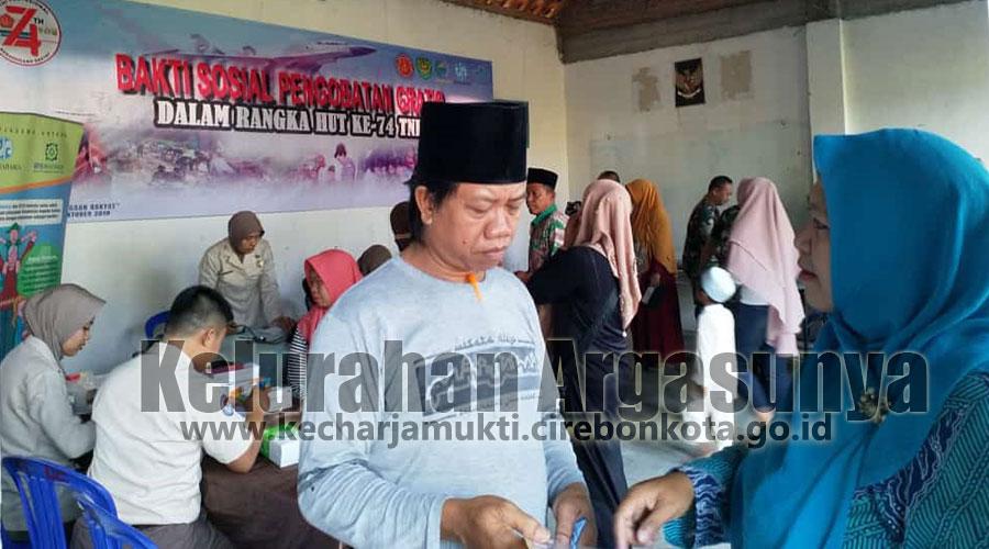 Baksos TNI Dalam Rangka HUT TNI ke 74