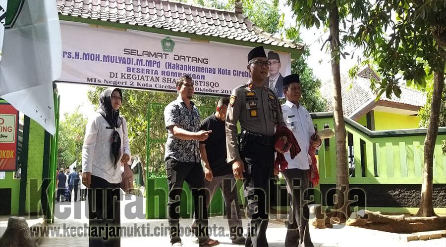 Lurah Kalijaga Hadiri Sholat Istisqo Berjamaah Di MTS Negeri 2 Kota Cirebon
