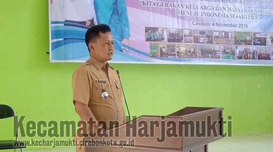 Camat Harjamukti, Drs. Agus Suherman, SH, MH