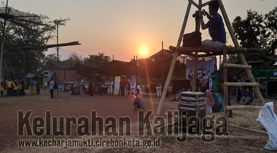 Lurah Kalijaga Ikuti Kirab Budaya Jelang Pembukaan JIAF Ke 8  Di Cadas Ngampar Kelurahan Argasunya