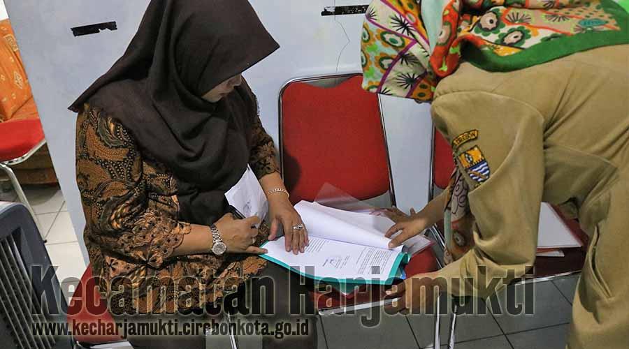 Pengecekan Data pendukung Kecamatan Harjamukti