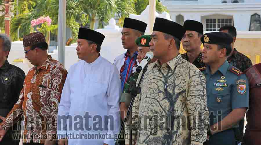 Wali Kota Cirebon, membuka lomba MTQ Tingkat Kota