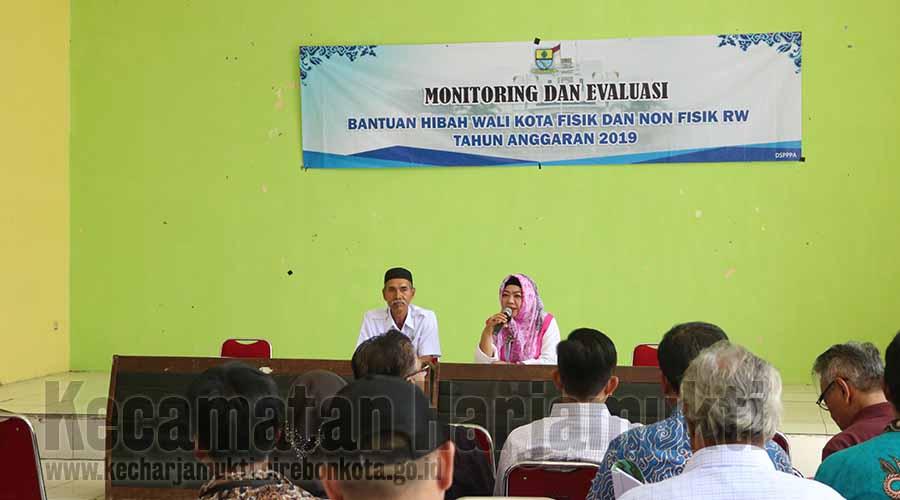 Monitoring dan Evaluasi oleh Dinsos PPPA Kota Cirebon