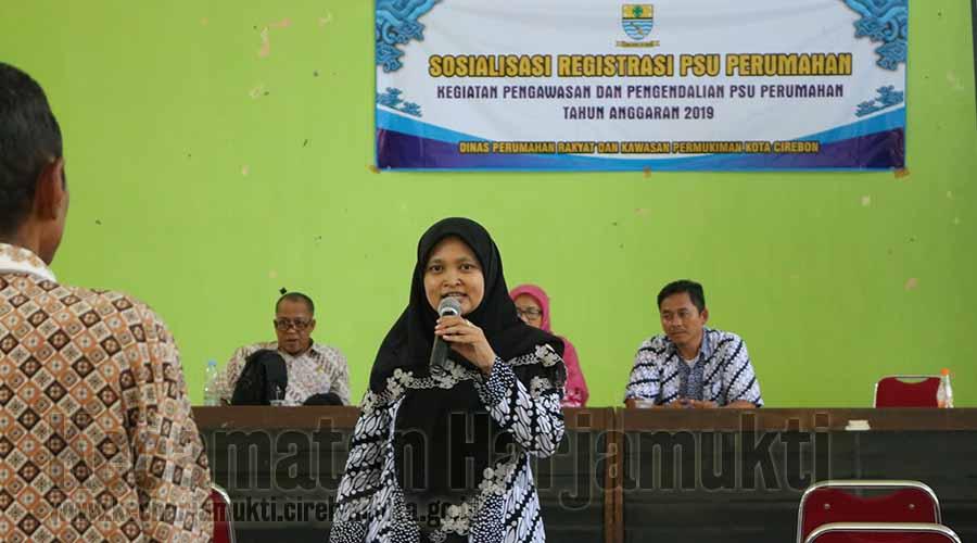 Sosialisasi Sarana dan Prasarana Utilitas oleh Dinas Perumahan Rakyat dan Kawasan Pemukiman Kota Cirebon