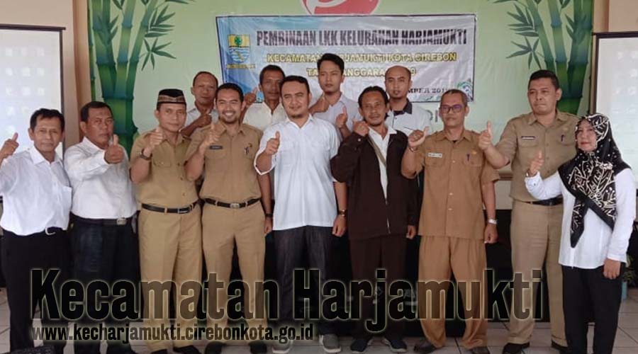 DSPPPA Kota Cirebon Melantik Pengurus LPM Kelurahan Harjamukti