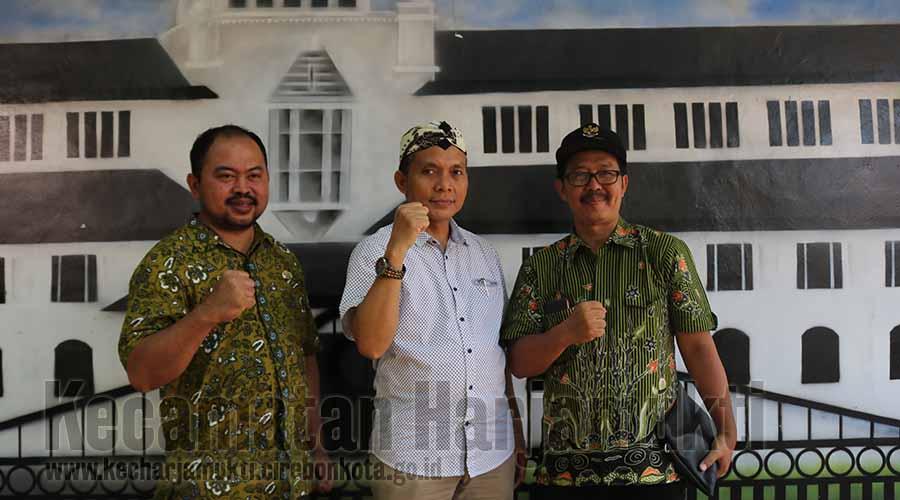 Sekmat, Plt. Camat Harjamukti dan Camat Purwokerto Utara