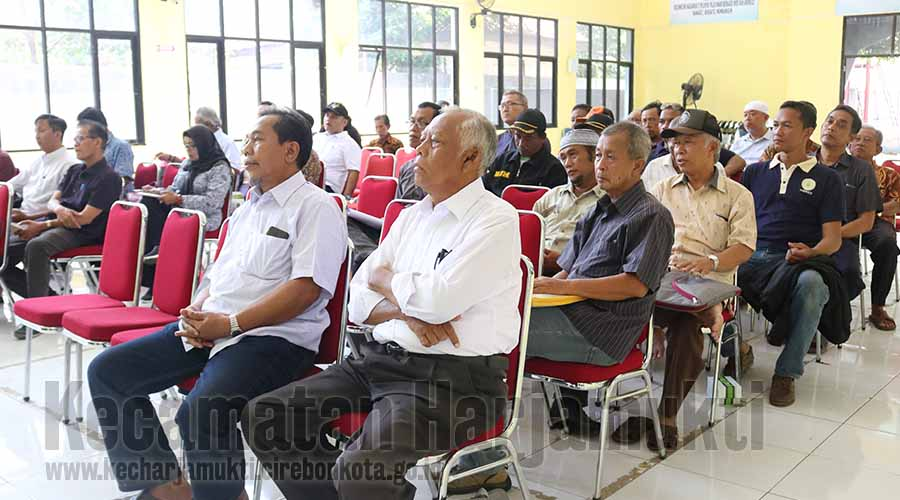 Dinsos Gelar Monev Bantuan Hibah Wali Kota bagi RW se-Kecamatan Harjamukti