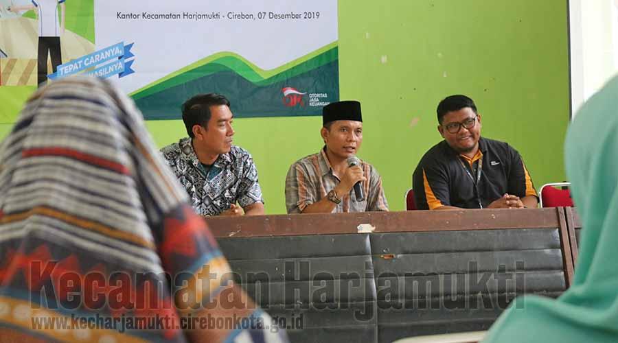 Plt. Camat Harjamukti Membuka Edukasi dari Pegadaian