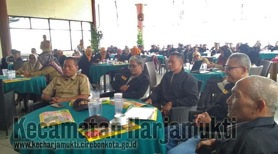 Pelantikan LPM dihadiri LKK Kelurahan Harjamukti