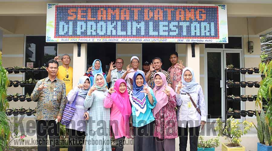 Kecamatan Cibiru Berkunjung Ke Kecamatan Harjamukti dan Kampung Proklim Lestari