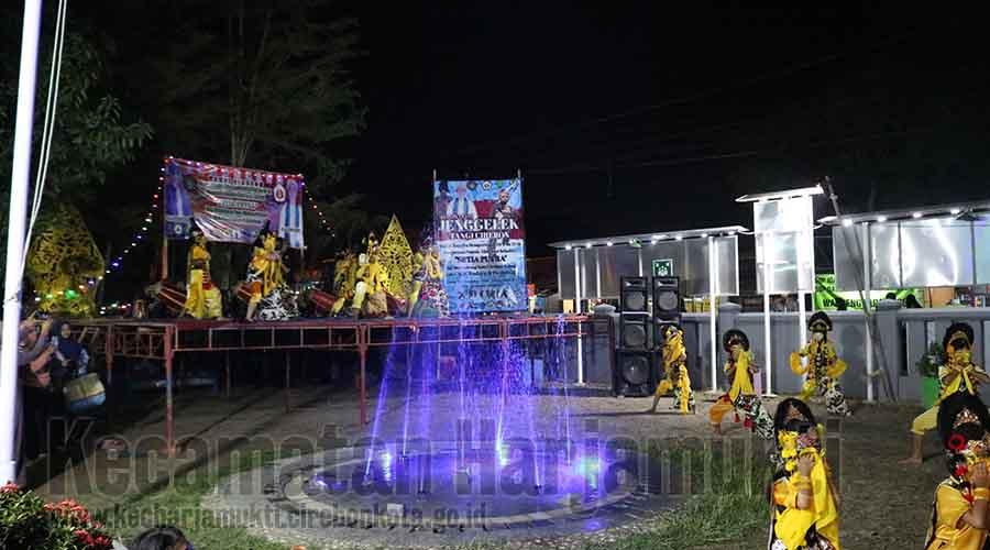 Perguruan Pencak Silat Setia Putra Gelar HUT ke-51 di Kantor Kecamatan Harjamukti