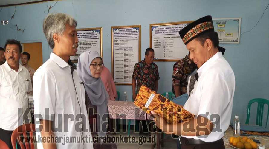 Pelantikan Pengurus RW. 015 Permata Harjamukti Selatan Kelurahan Kalijaga Periode Tahun 2019 - 2022