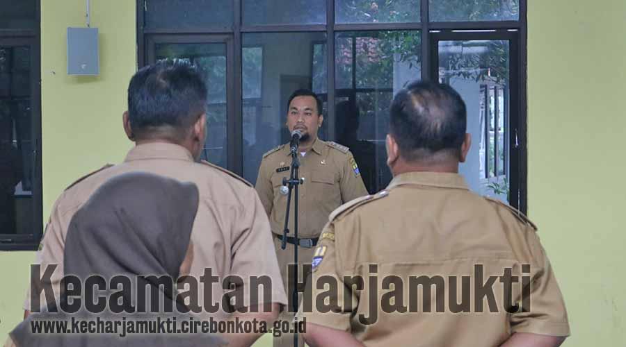 Camat Harjamukti Instruksikan Kelurahan Untuk Petakan Wilayah Rawan Bencana Beserta Solusinya