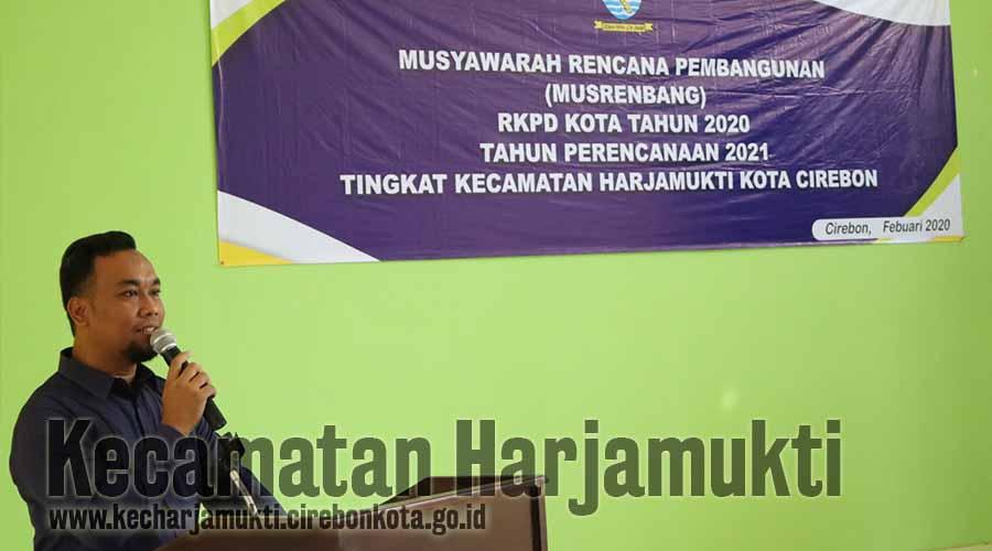 Kecamatan Harjamukti Gelar Musrenbang Tingkat Kecamatan, Tim IT Menjadi Program Unggulan Kecamatan Harjamukti