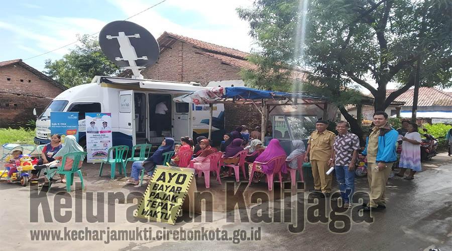 Layanan PBB Keliling di RW.003 Kalijaga Kelurahan Kalijaga Kecamatan Harjamukti Kota Cirebon