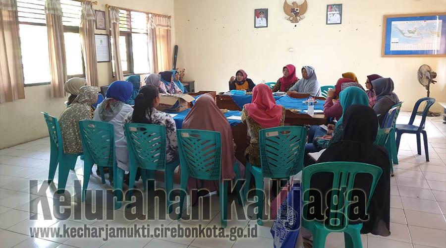 Rapat Persiapan Lomba Cipta Menu / Pangan Lokal B2SA Tingkat Kelurahan Kalijaga
