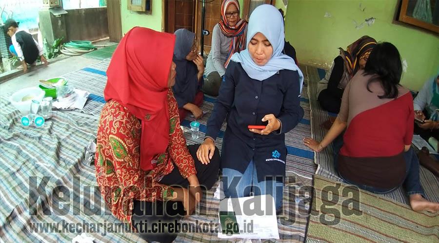 Sensus Penduduk Online Tahun 2020 di RW.015 Permata Harjamukti Selatan Kelurahan Kalijaga