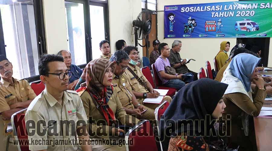 Peserta Sosialisasi Layanan Samsat Tahun 2020